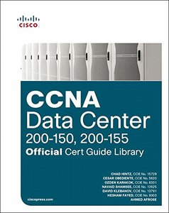 CCNA Data Center (200-150, 200-155) Official Cert Guide Library-cover