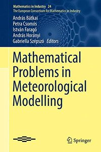 Mathematical Problems in Meteorological Modelling (Mathematics in Industry)-cover