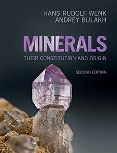 Minerals: Their Constitution and Origin, 2/e (Paperback)-cover
