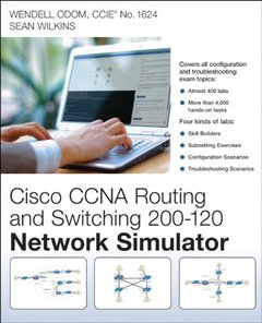 CCNA Routing and Switching 200-120 Network Simulator 1st Edition-cover