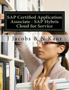 SAP Certified Application Associate - SAP Hybris Cloud for Service-cover