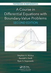 A Course in Differential Equations with Boundary Value Problems, Second Edition (Textbooks in Mathematics)-cover