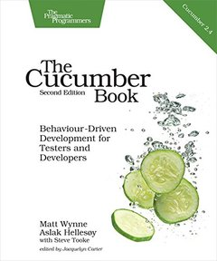 The Cucumber Book: Behaviour-Driven Development for Testers and Developers-cover