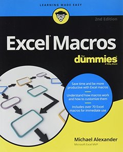 Excel Macros For Dummies (For Dummies (Computer/Tech))-cover