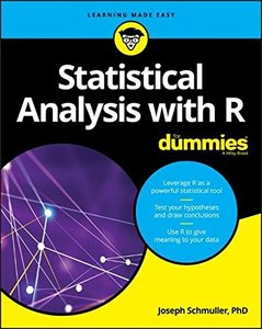 Statistical Analysis with R For Dummies (For Dummies (Computer/Tech))-cover