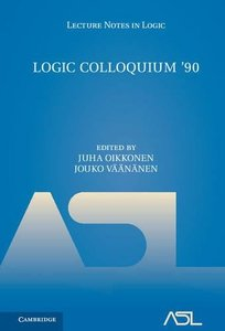 Logic Colloquium '90 (Lecture Notes in Logic)-cover