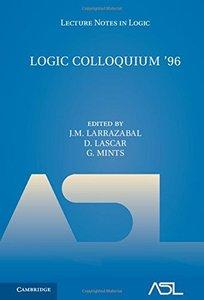 Logic Colloquium '96 (Lecture Notes in Logic)-cover