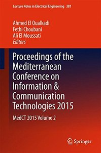 Proceedings of the Mediterranean Conference on Information & Communication Technologies 2015: MedCT 2015 Volume 2 (Lecture Notes in Electrical Engineering)-cover