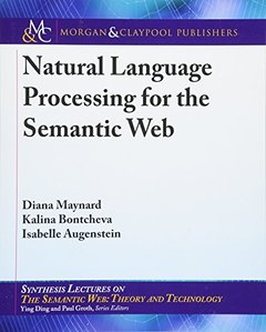 Natural Language Processing for the Semantic Web (Synthesis Lectures on the Semantic Web: Theory and Technology)-cover