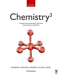 Chemistry3: Introducing Inorganic, Organic and Physical Chemistry, 3/e (Paperback)-cover