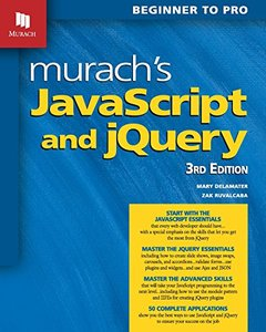Murach's JavaScript and Jquery ( 3/e) 快遞進口-cover