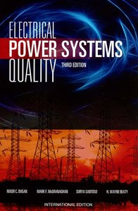 Electrical Power Systems Quality, 3/e (Paperback)-cover