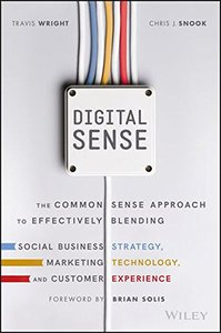 Digital Sense: The Common Sense Approach to Effectively Blending Social Business Strategy, Marketing Technology, and Customer Experience-cover