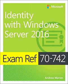 Exam Ref 70-742 Identity with Windows Server 2016-cover