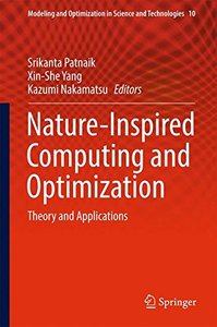 Nature-Inspired Computing and Optimization: Theory and Applications (Modeling and Optimization in Science and Technologies)-cover
