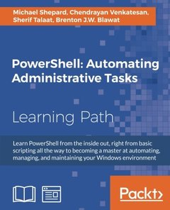 PowerShell: Automating Administrative Tasks-cover