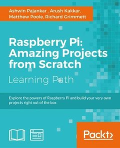 Raspberry Pi: Amazing Projects from Scratch-cover