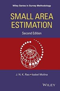 Small Area Estimation, 2/e (Hardcover)-cover