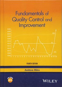 Fundamentals of Quality Control and Improvement, 4/e (Hardcover)-cover