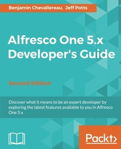 Alfresco One 5.x Developer's Guide - Second Edition-cover