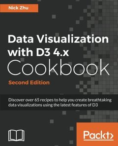 Data Visualization with D3 4.x Cookbook - Second Edition-cover