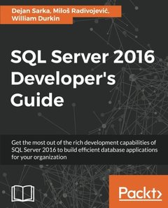 SQL Server 2016 Developer's Guide-cover