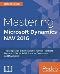 Mastering Microsoft Dynamics NAV 2016-cover