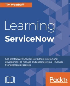 Learning ServiceNow-cover