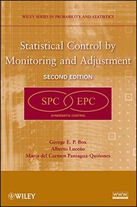 Statistical Control by Monitoring and Adjustment 2nd Edition-cover
