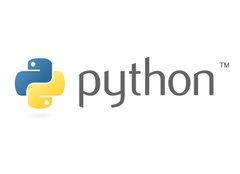 Python Language Logo Sticker-cover