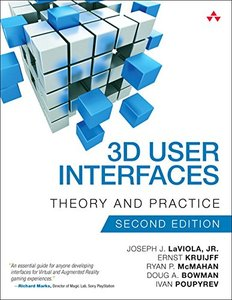 3D User Interfaces: Theory and Practice (2nd Edition) (Usability)-cover