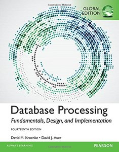 Database Processing : Fundamentals, Design, and Implementation, 14/e (IE-Paperback)-cover