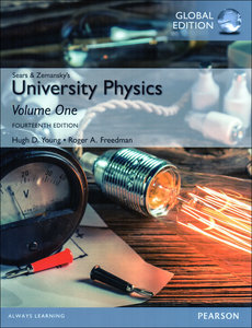 University Physics with Modern Physics: Volume 1, 14/e (Chs. 1-20) (IE-Paperback)-cover