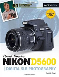 David Busch's Nikon D5600 Guide to Digital SLR Photography-cover