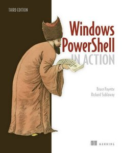 Windows PowerShell in Action 3rd Edition -cover