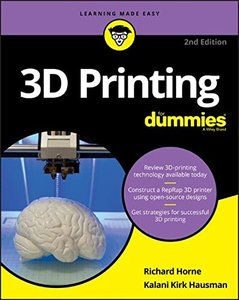 3D Printing For Dummies (For Dummies (Computers))-cover