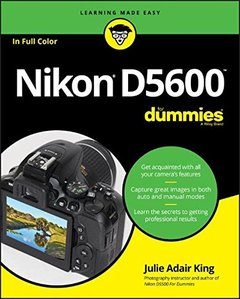 Nikon D5600 For Dummies (For Dummies (Lifestyle))-cover