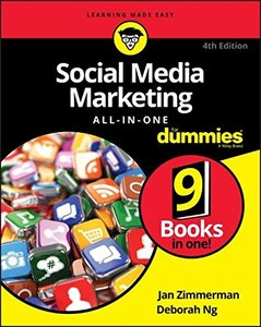 Social Media Marketing All-in-One For Dummies (For Dummies (Computers))-cover