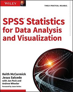 SPSS Statistics for Data Analysis and Visualization-cover