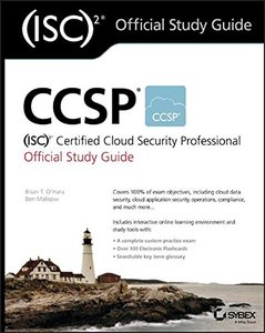 CCSP (ISC)2 Certified Cloud Security Professional Official Study Guide-cover