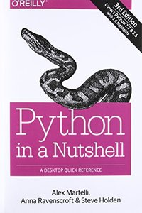 Python in a Nutshell: A Desktop Quick Reference, 3/e (Paperback)-cover