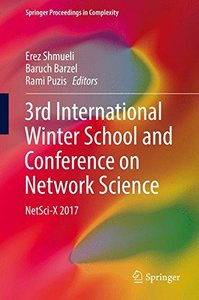 3rd International Winter School and Conference on Network Science: NetSci-X 2017 (Springer Proceedings in Complexity)-cover