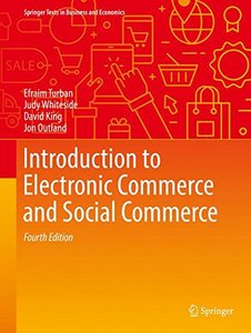 Introduction to Electronic Commerce and Social Commerce (Springer Texts in Business and Economics)-cover