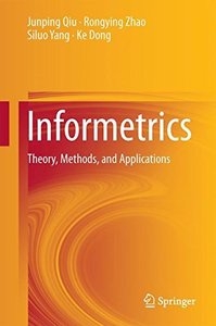 Informetrics: Theory, Methods and Applications-cover