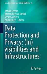 Data Protection and Privacy: (In)visibilities and Infrastructures-cover