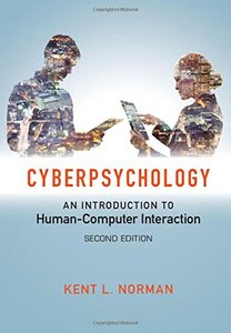 Cyberpsychology: An Introduction to Human-Computer Interaction-cover