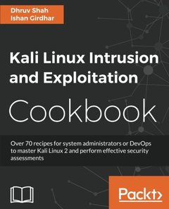 Kali Linux Intrusion and Exploitation Cookbook-cover