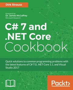 C# 7 and .NET Core Cookbook-cover