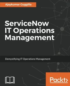 ServiceNow IT Operations Management-cover
