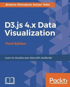 D3.js 4.x Data Visualization, 3/e (Paperback)-cover